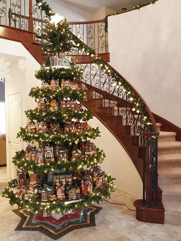 christmas trees - Beautifully Decorated Christmas Trees