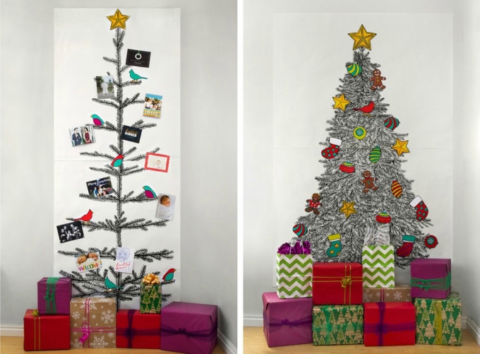Alternative Christmas Decorations.35 Alternative Christmas Tree Decoration Ideas 2017