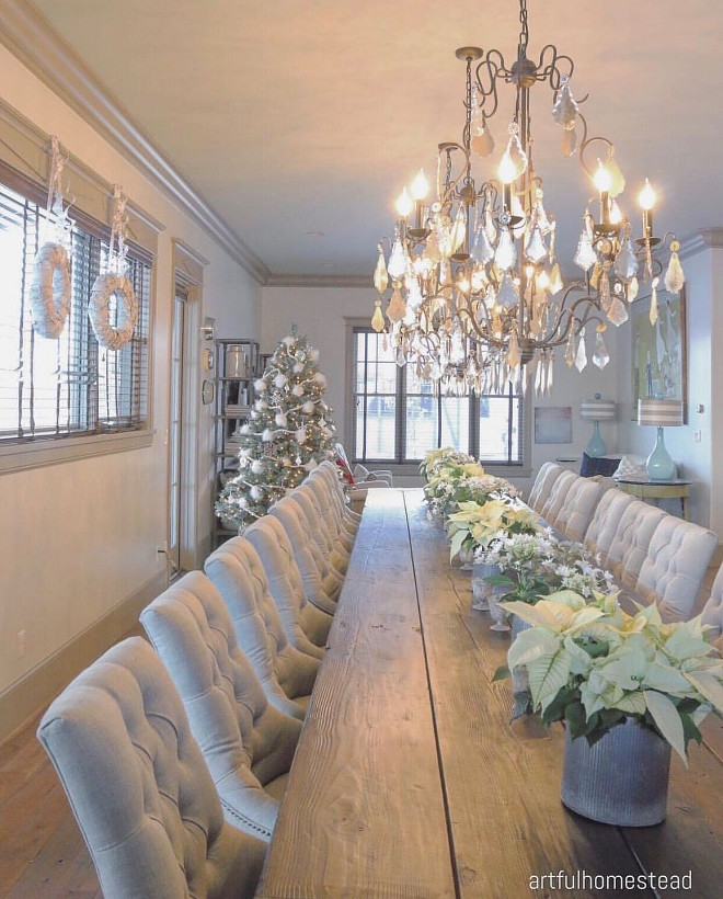 37 Stunning Christmas Dining Room Décor Ideas: 30 Awesome Christmas Decoration Ideas