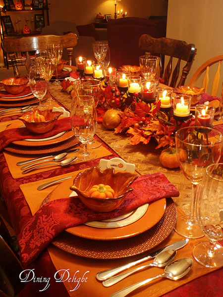 ... Ideas Elegant Thanksgiving Dinner Table Setting ...