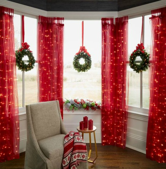 festive indoor christmas decorations - Indoor Christmas Decorations Ideas