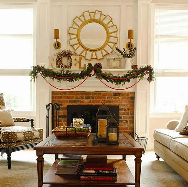 Beautiful Decorations For Your Home: 40 Beautiful Indoor Christmas Decorating Ideas