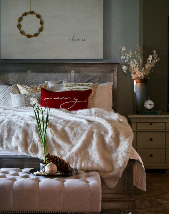 ... Decorating Ideas French Christmas Inviting Christmas Bedroom ...