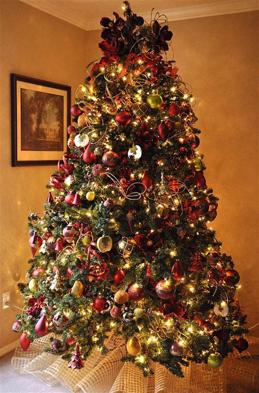 45 Inspiring Christmas Tree Decorating Ideas