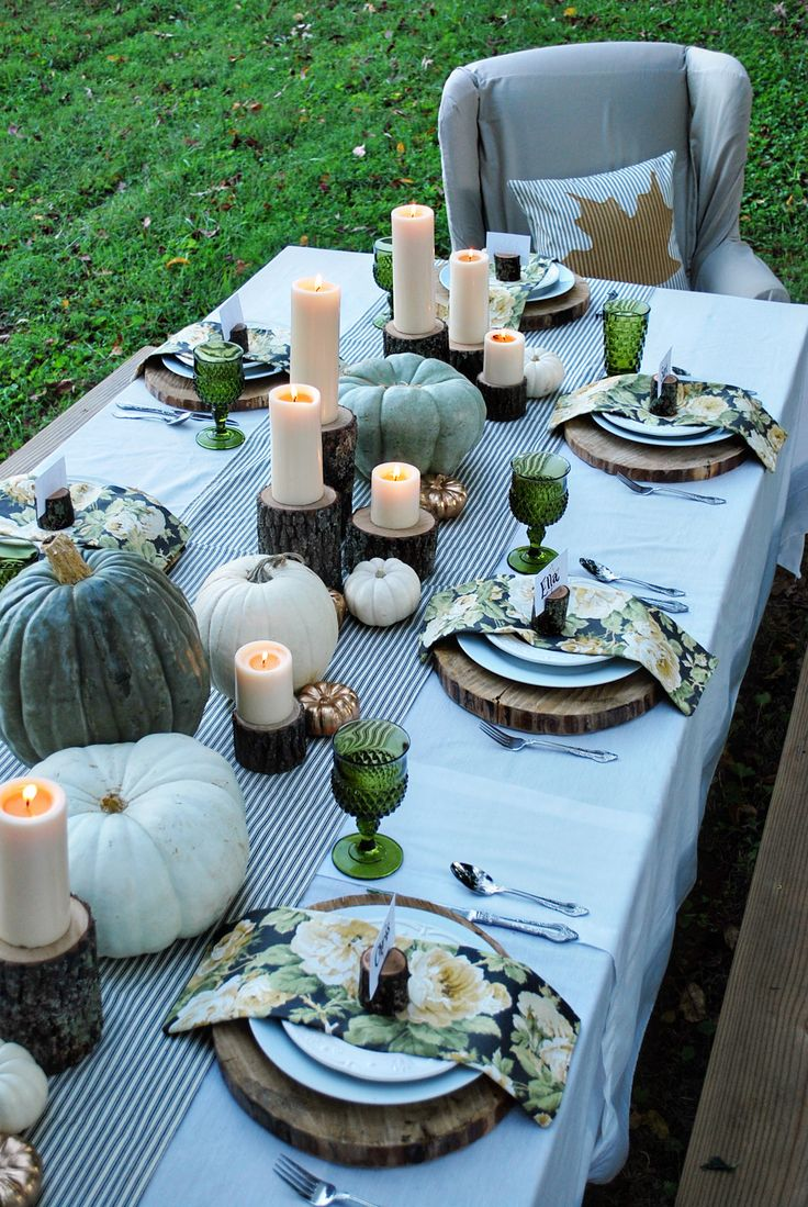 25 Easy Fall Table Decorating Ideas for a Cheerful Dinner