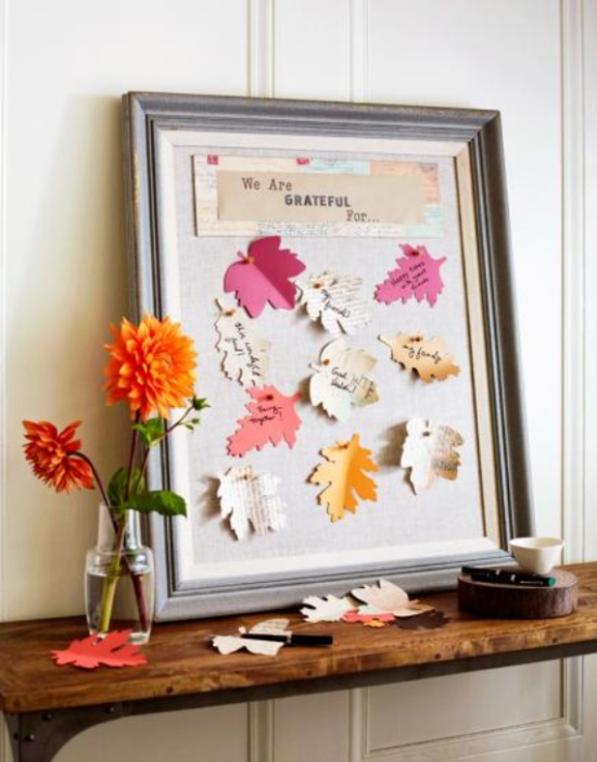 Decorating Ideas For Living Rooms With Beige Walls: 35+ Creative Thanksgiving Decorating Ideas