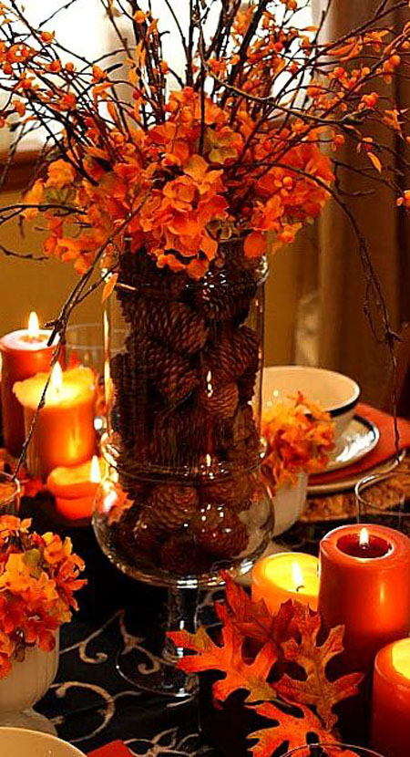 ... Thanksgiving Table Centerpiece Thanksgiving Table Decor Ideas ... & 35+ Best Thanksgiving Table Decorations u0026 Place Settings