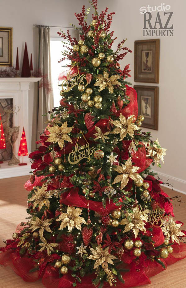 45+ Inspiring Christmas Tree Decorating Ideas
