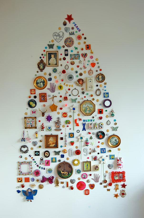 Christmas Tree Decoration Craft Ideas Part - 25: ... Unique Christmas Tree Decor Idea ...