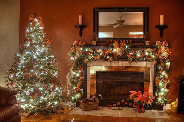 Superior ... Wonderful Living Rom For Christmas Wonderfully Decorated Indoor ...