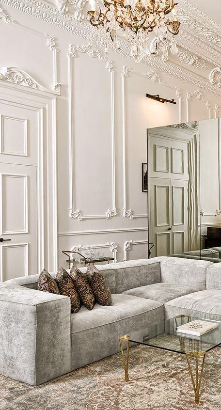 ... Incredible Classic Living Room Decor Idea ...