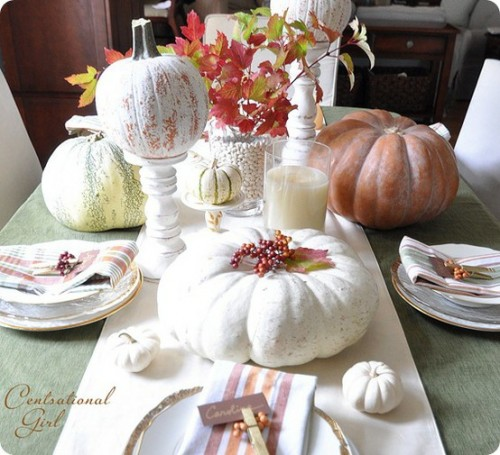 45 Amazing Decorating Ideas To Create A Stylish Nursery: 25 Easy Fall Table Decorating Ideas For A Cheerful Dinner