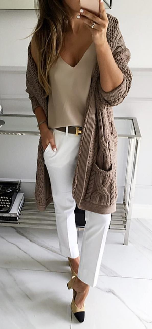 Long Cardigan Sweater Womens