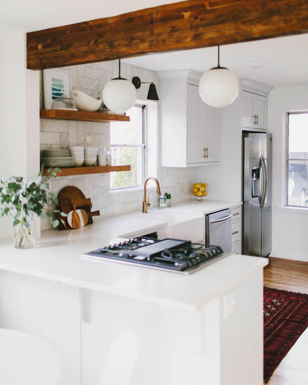 30 Best Small Kitchen Design Ideas: 30 Timeless Cottage Kitchen Designs For A New Look
