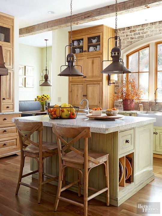 #10 Farmhouse Kitchens Ideas Source