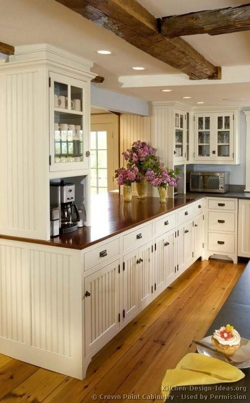 #29 White Country Cottage Kitchen Source