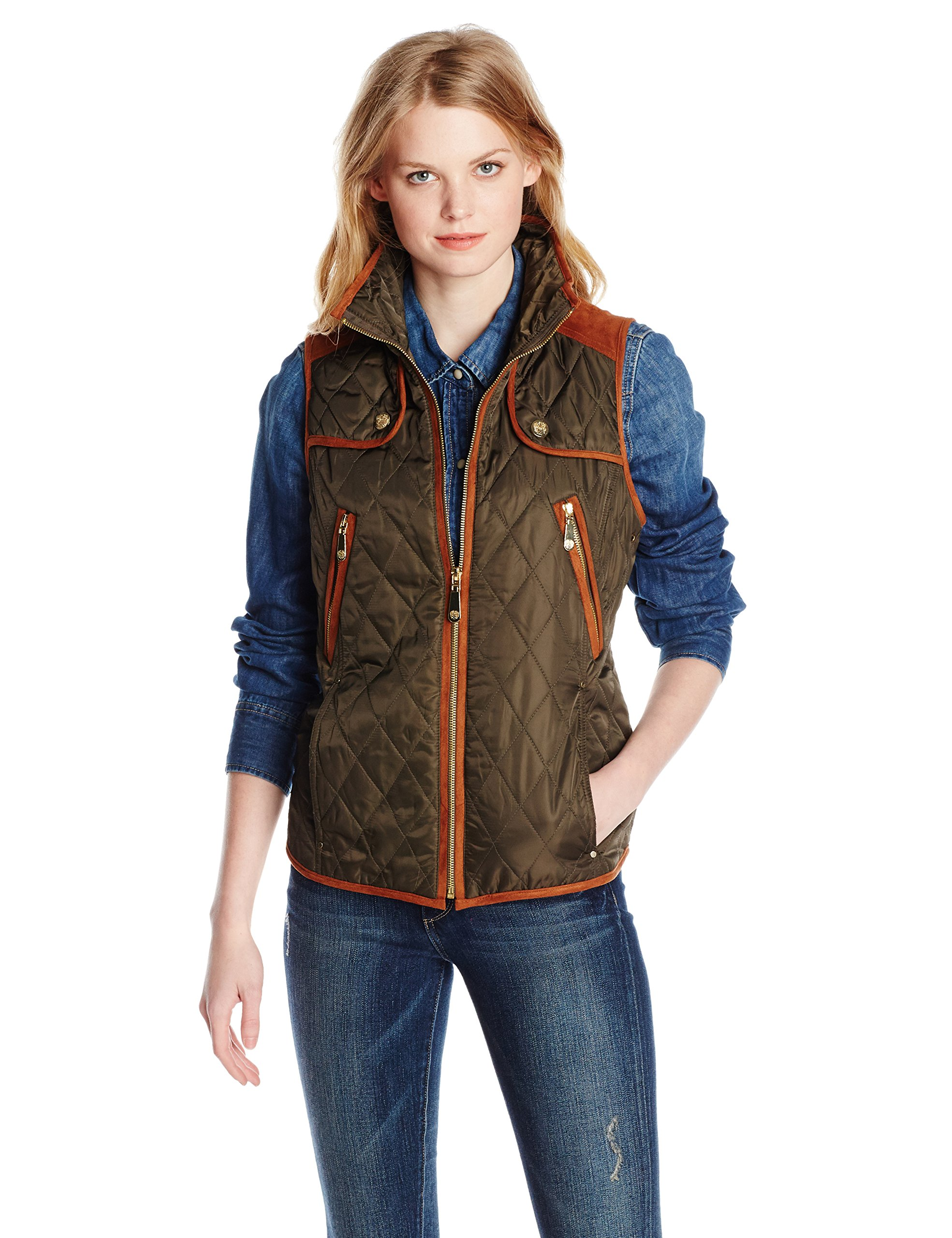 vest joe orders quilt clothing shoes shipping on product caribbean womens quilted free s women overstock over