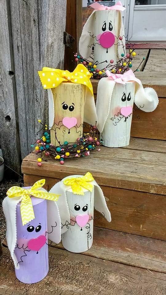 Wonderful 50 Best Outdoor Easter Decor Ideas