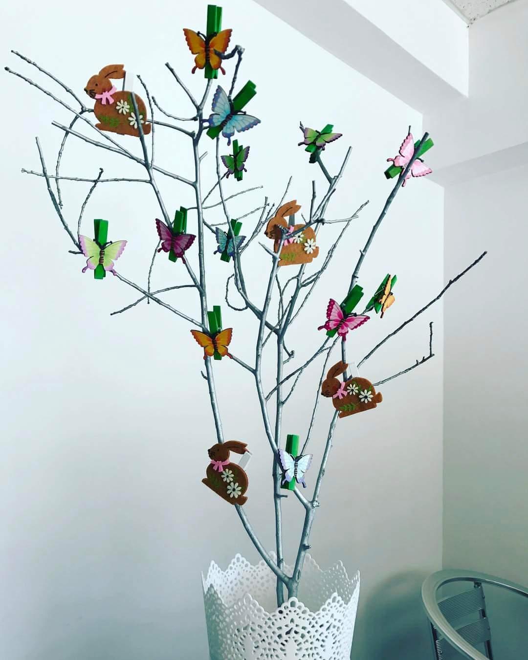 Simple Christmas Tree Decor