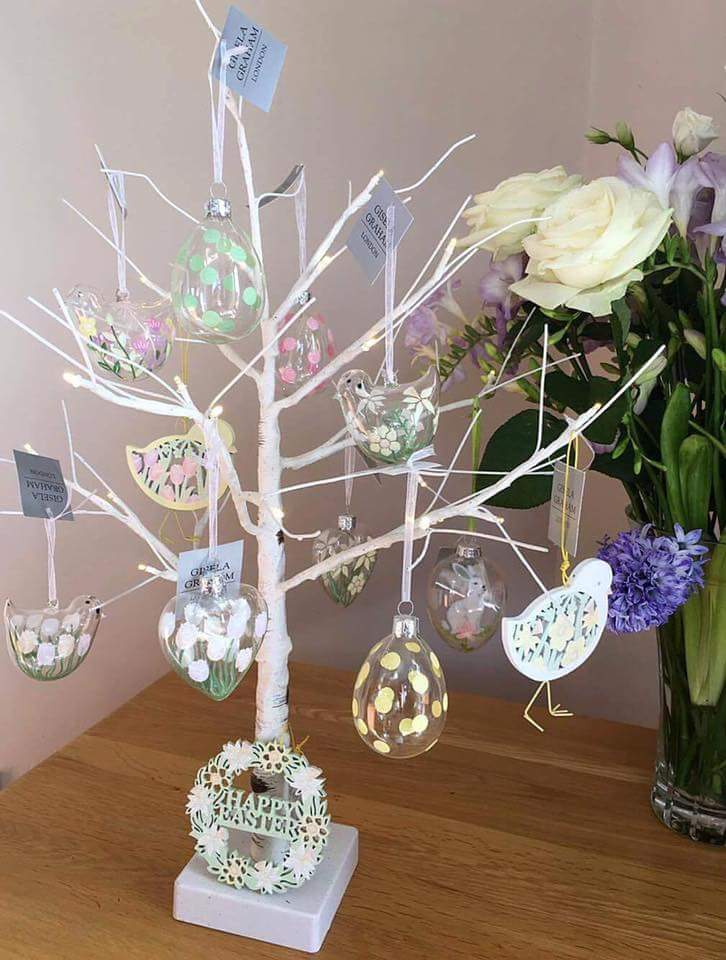 how to make an easter tree 50 beautiful eater decoration ideas. Black Bedroom Furniture Sets. Home Design Ideas