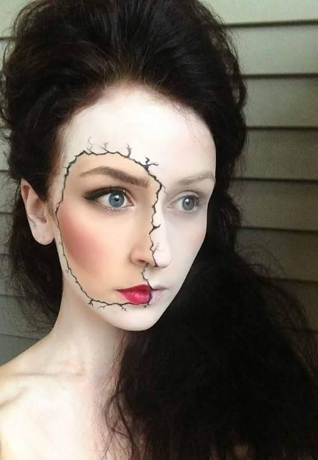 Halloween Makeup Scary.70 Scary Halloween Makeup Ideas You Ll Love