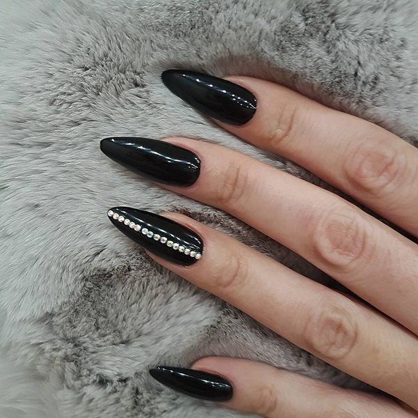 50+ Creative Stiletto Nails Designs To Try - Gravetics