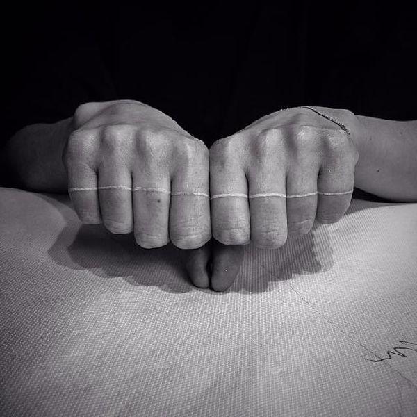 45 Mesmerizing Surreal Tattoos That Are Wonderful: 70+ Beautiful Finger Tattoo Ideas