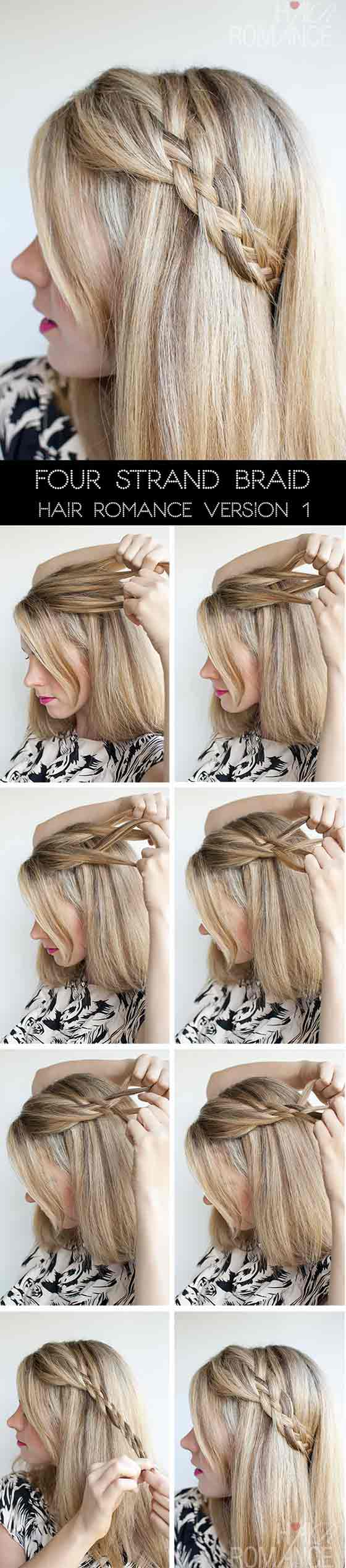 40 Easy Braided Hairstyles That We Love Gravetics