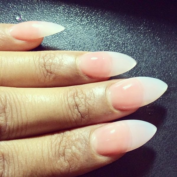 Stiletto Nails Designs Natural