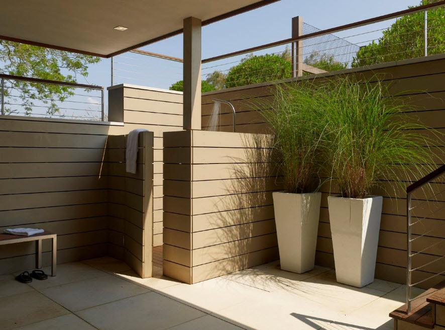 55 Refreshing DIY Outdoor Shower Ideas - Gravetics
