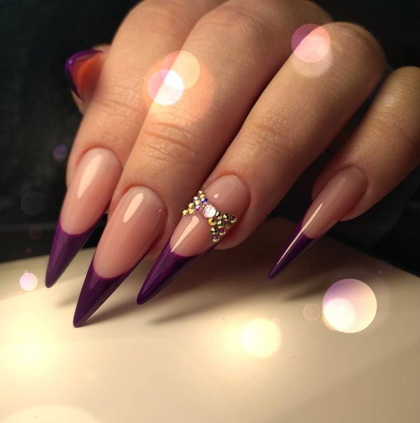 50  creative stiletto nails designs to try