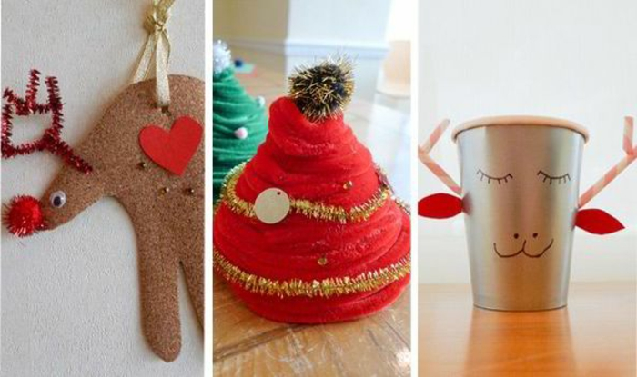 60 Most Adorable Christmas Craft Ideas for Kids - Gravetics
