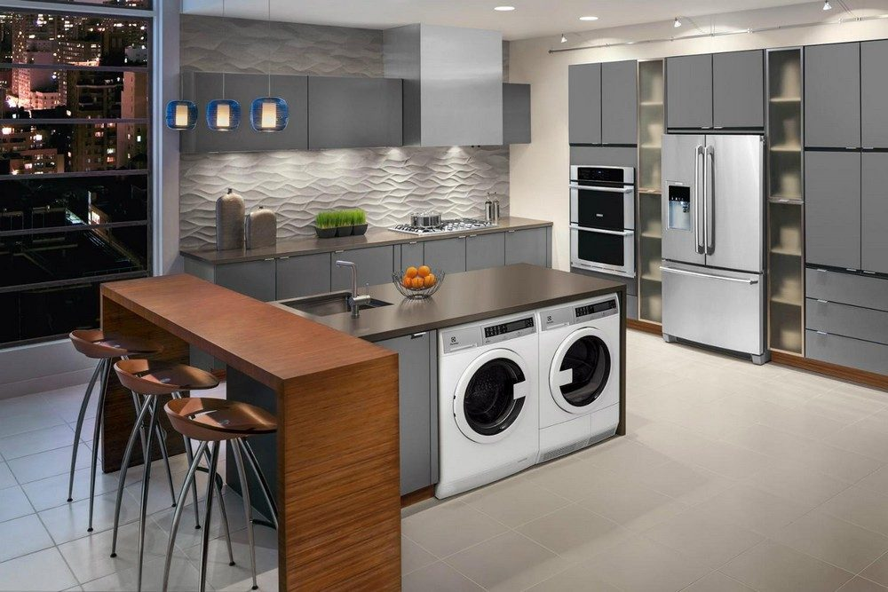 65 Best Ideas To Place Washing Machine In The Kitchen