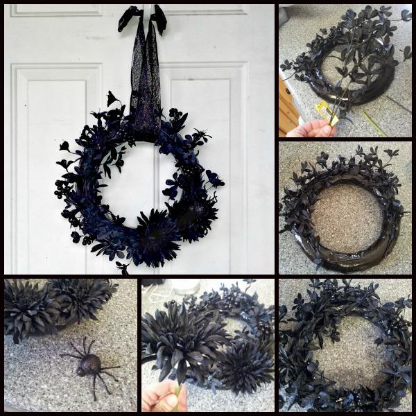 55 Easy Effortless And Elegant Halloween Wreath Ideas Gravetics