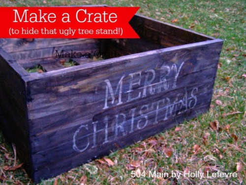 25+ Creative DIY Christmas Tree Stands