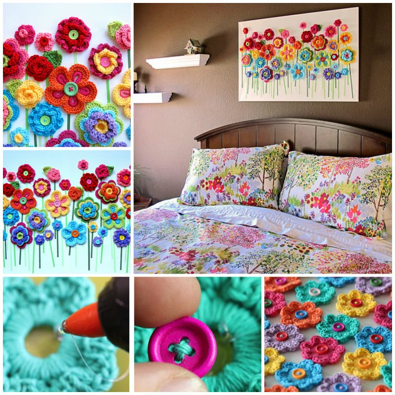 16 Adorable Button Crafts And Projects Gravetics
