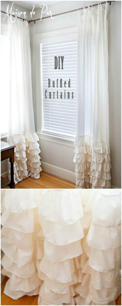 DIY Curtains - 14 Elegant And No-Sew Ideas You'll Love