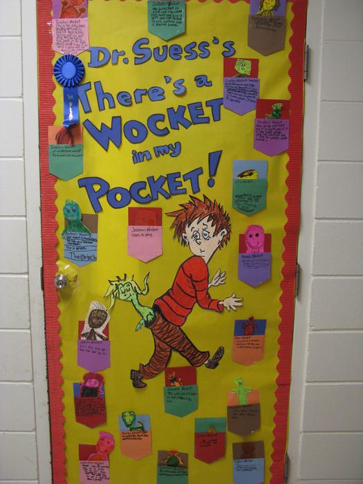 Dr Seuss Door Art Ideas