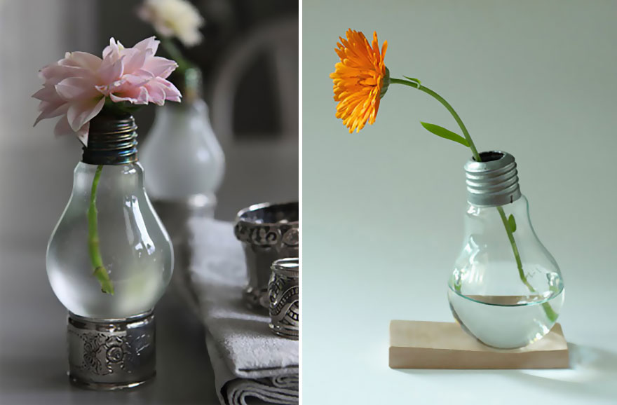 17 Recycled Old Light Bulbs DIYs Which Will Surprise You Beyond Measure - Gravetics