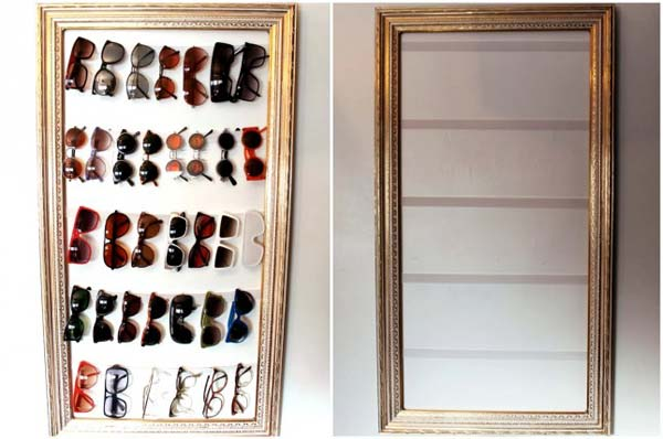 30+ Interesting Ways to Repurpose Old Picture Frames Which are Elegant and Classy - Gravetics