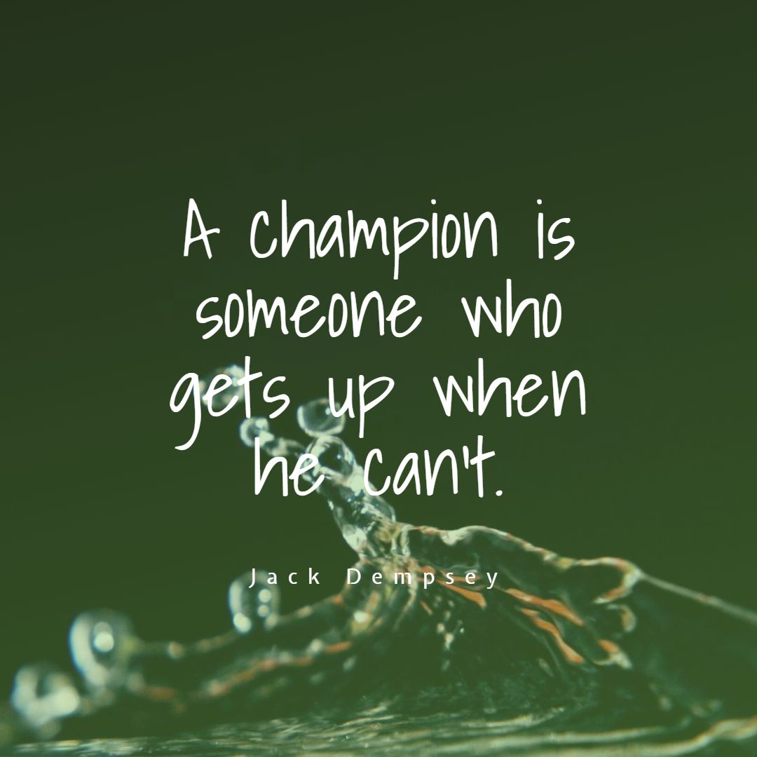 Inspirational Sports Quotes That Teaches You To Life Lessons